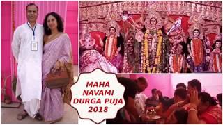 Durga Puja Maha Navami 2018 Navratre