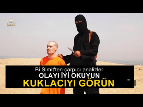 Bi Simit : James Foley katliamı ve İngiltere'nin Obama'yı Tehdidi