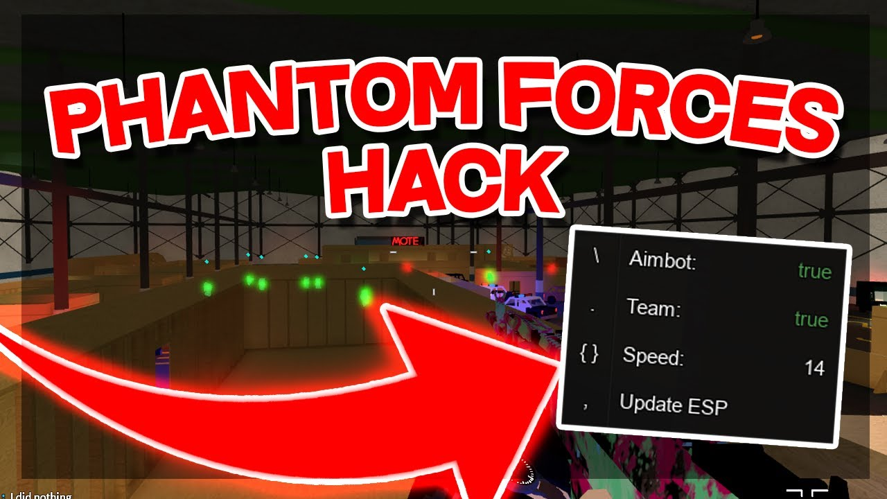 New Phantom Forces Hack Unlimited Credits Aimbot Esp More