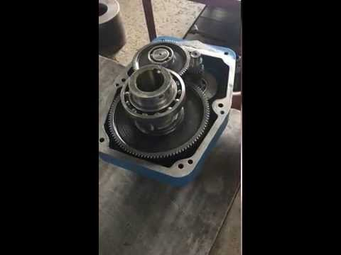 Shafted mounted gearbox