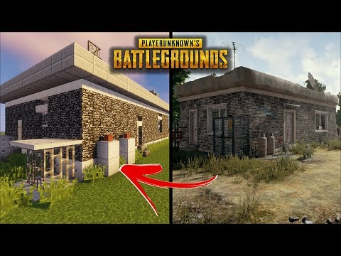 Minecraft - How To Build A PUBG House #2 | Player Unknown Battlegrounds  | Tutorial