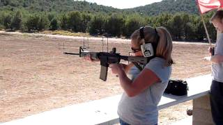 Amanda shooting my new S M