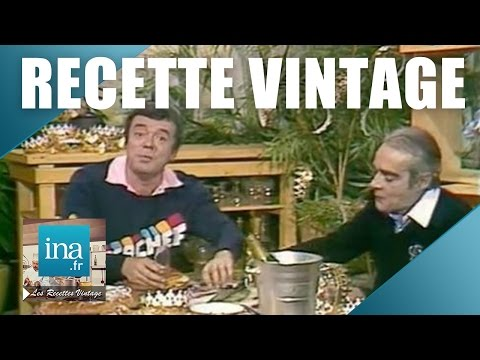 Recette : la galette des rois de Michel Oliver   Archive INA