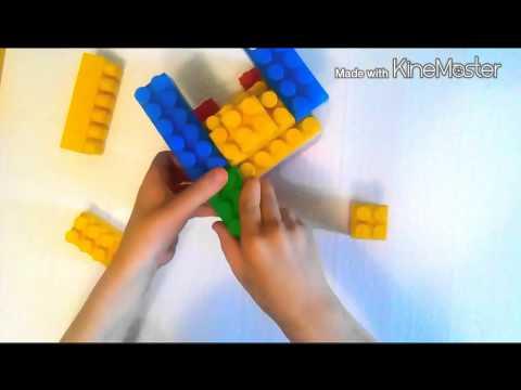 Как сделать автомат из кубиков
