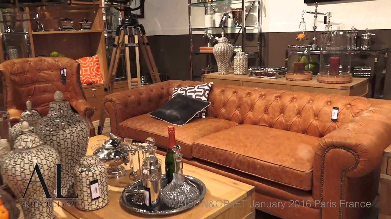 Maison objet paris jan 2016 artelore home youtube for Objets decoratifs maison