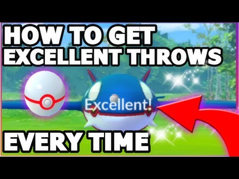 HOW TO EXCELLENT THROW KYOGRE EVERY TIME IN POKEMON GO | NEW UPDATE ONLY