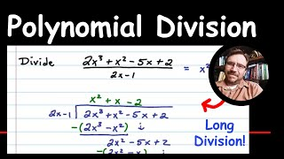 Polynomial Long Division With Zero Remainder