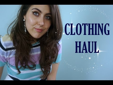 CLOTHING HAUL (Goodwill, Salvation Army, American Apparel) // The Green Bunny