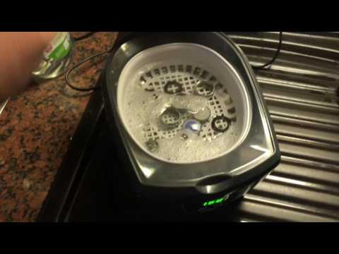 How to clean faucet aerator with an Ultrasonic cleaner tap aerator cleaning DIY