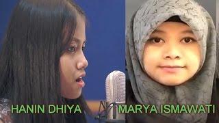 """(Suara Emas) HANIN DHIYA & MARYA ISMAWATI  """" MIMPI """" (Anggun C Sasmi)"""