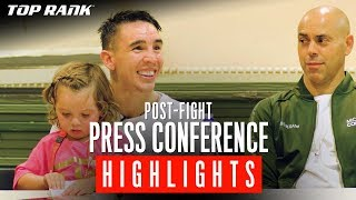 POST-FIGHT PRESS CONFERENCE HIGHLIGHTS | Michael Conlan