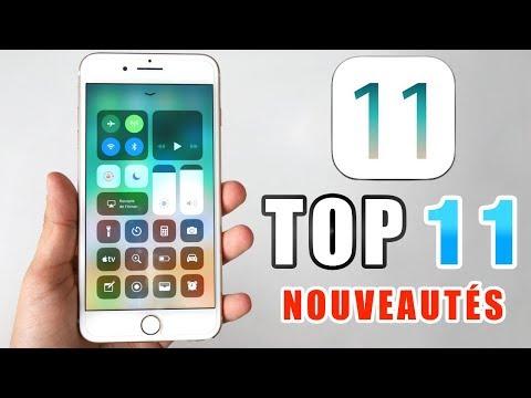 iOS 11 : TOP 11 des Nouveautés !