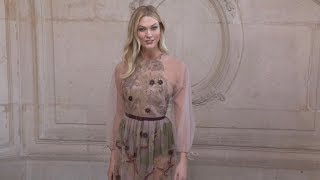 Karlie Kloss, Eva Herzigova, Mia Goth and more at Dior HC Fashion Show