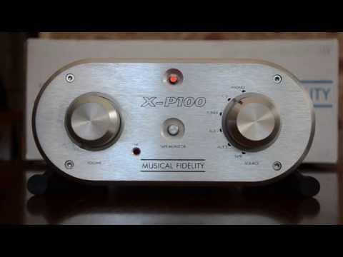 Musical Fidelity X-P100 Pre Amplifier