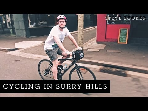 Cycling In Surry Hills | Steve Booker