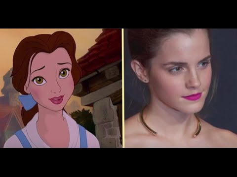 Beauty And The Beast Live Cast Vs Animated Characters