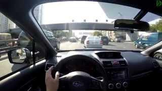 Subaru WRX STI FPV Driving in 4k / Стоим в пробке с Subaru WRX STI