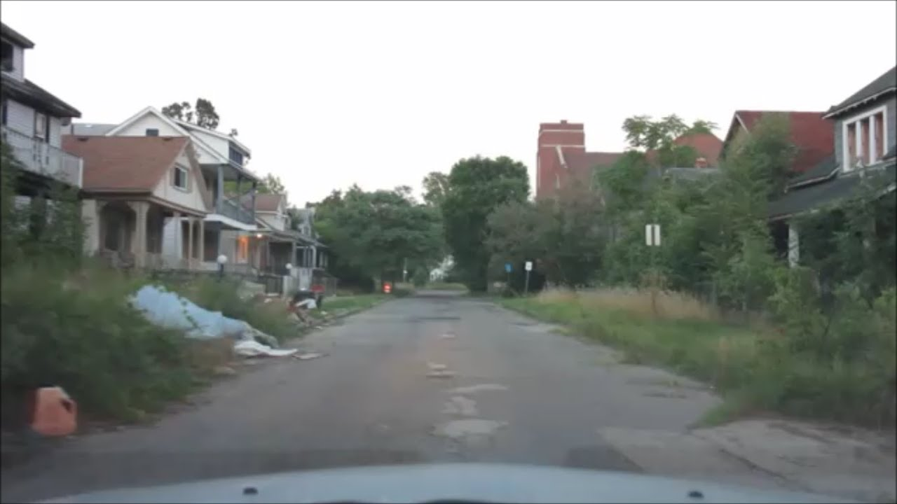 DETROITS WORST SLUMS EASTSIDE WESTSIDE