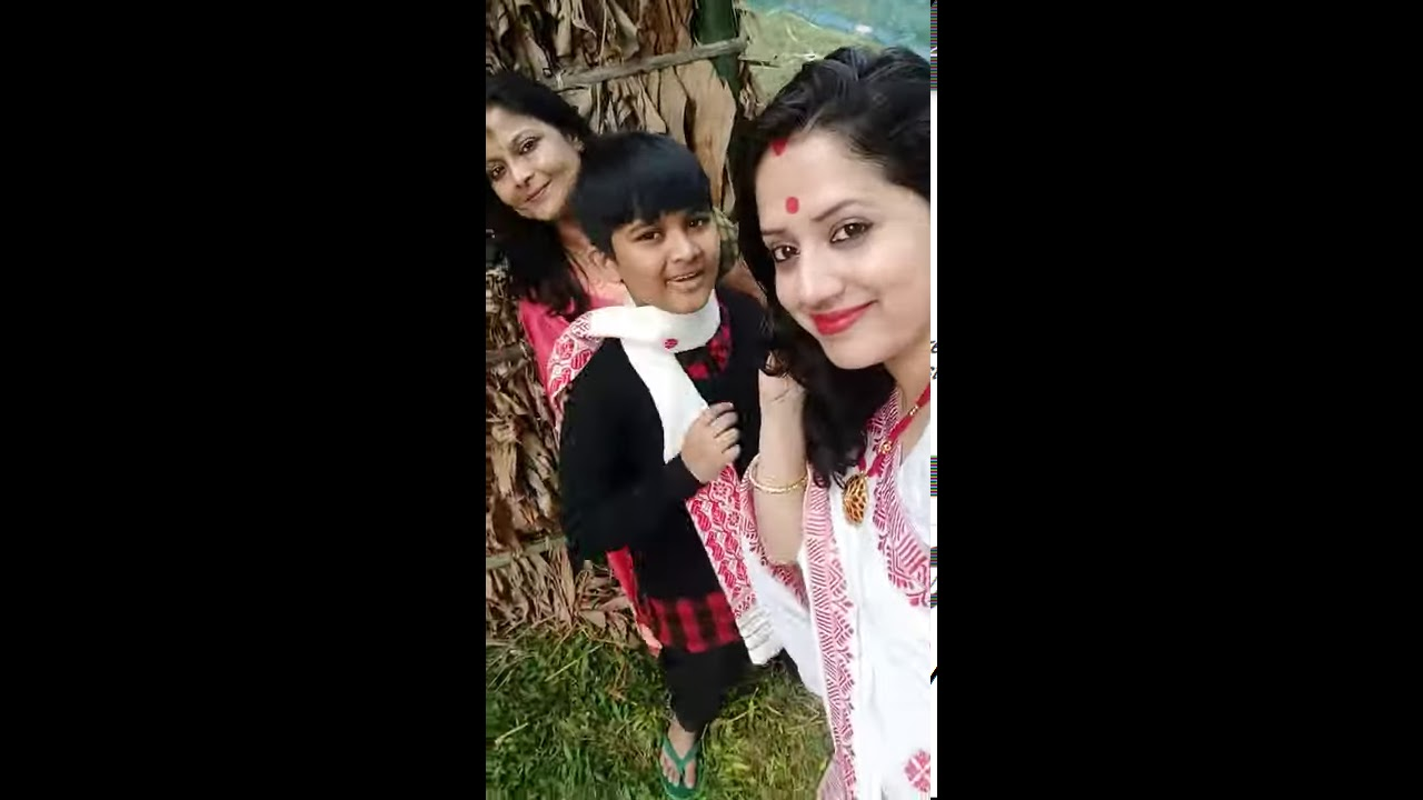 Seng Daang || Kussum Kailash and Neel Akash || Bhogali bihu #YouTube_shorts #assamese_cover_video