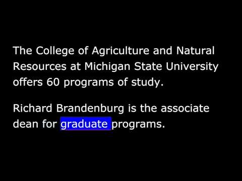 VOA Special English - Studying in America - 33 - Agricultural Major