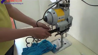 Hướng dẫn sử dụng máy cắt vải Kaisiman CZD 108