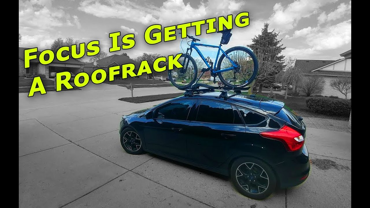 installing roofrack on the ford focus