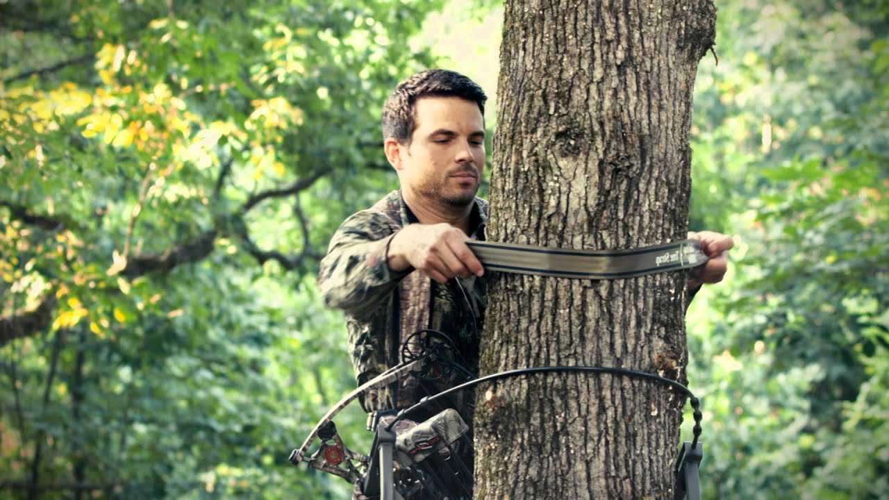 Your Tether S Too Low Treestand Safety Youtube