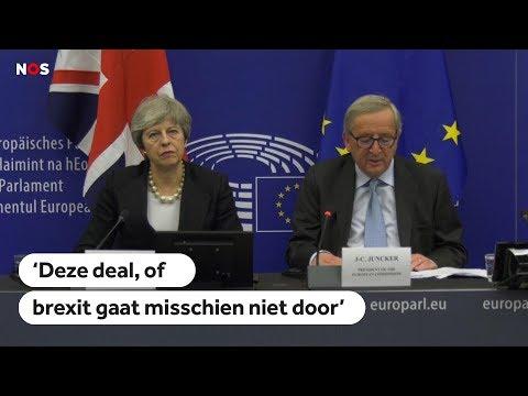 BACKSTOP: EU en May passen brexit-deal aan