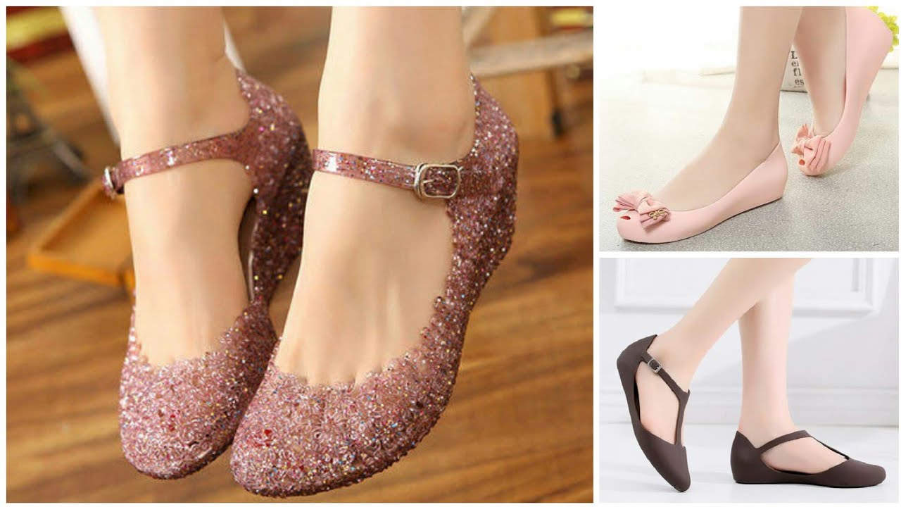 Stylish & Trendy Rainy Season Footwear Designs For Girls.