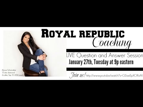 Royal Republic LIVE: Informational call on health coaching with Royal Republic