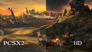 Final Fantasy X SD vs HD vs PCSX2 Comparison