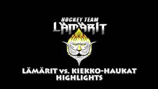 12.11.2016 Lämärit vs Kiekko-Haukat HIGHLIGHTS
