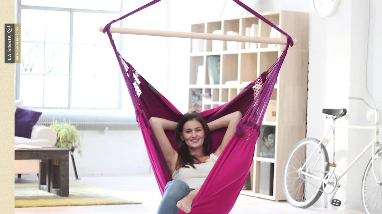 la siesta mar  s   original brazilian hammock chair   youtube  rh   youtube
