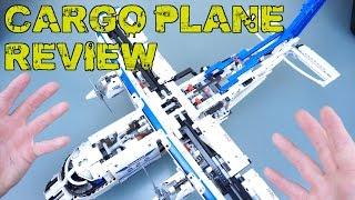 LEGO Technic Cargo Plane Review | 42025