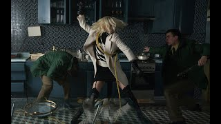 Charlize Theron On Atomic Blonde's Stunts