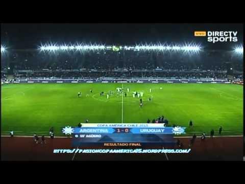 Argentina 1-0 Uruguay (DirecTV Sports) - Copa América 2015
