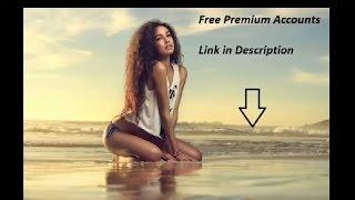 Free Premium accounts 8, 9 september 2016