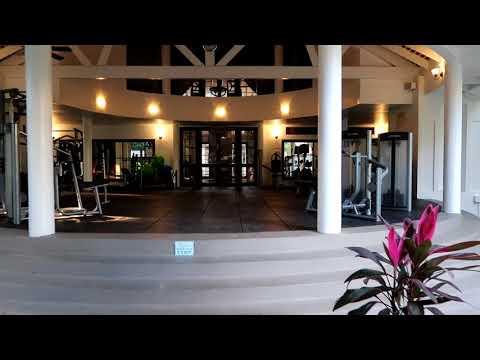 Jewel Dunn's river beach resort gym and tennis court