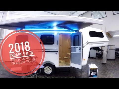 2018 Escape 5 0 TA Trailer Tour (5th Wheel) (148)