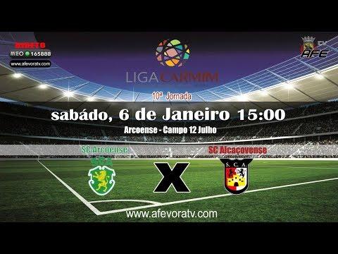 Liga CARMIM 2017/2018, 11ª Jornada - SCA 4X0 SCA