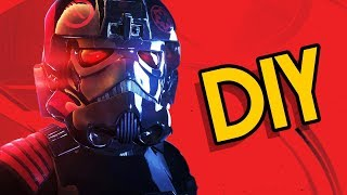 DIY Iden Versio Battlefront 2 TIE Fighter Helmet- Backyard FX