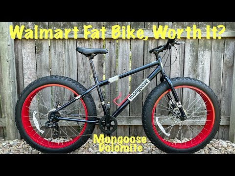 Walmart Fat Bike Review | Mongoose Dolomite | Cheap Fatbike