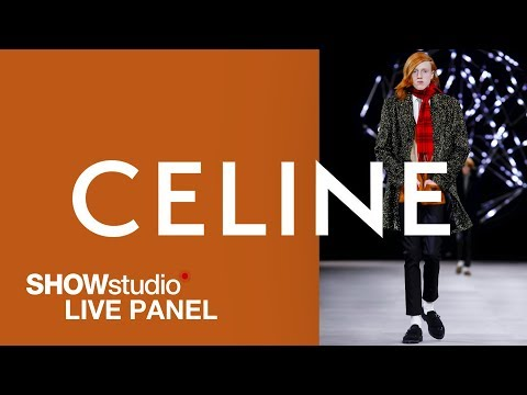 Celine - Autumn / Winter 2019 Menswear Panel Discussion Mp3
