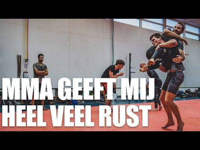 MMA geeft mij heel veel rust in mijn hoofd | Paddy over DFC Ridderkerk