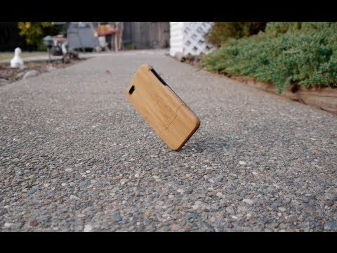 iPhone 5 Drop Test - Grovemade Bamboo Case Review for iPhone 5