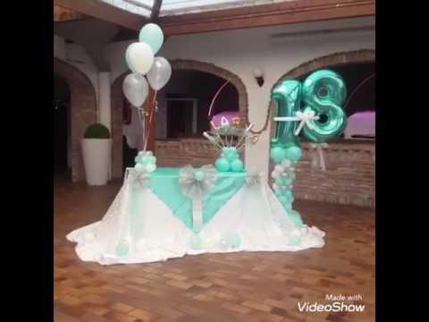 Decorazione festa 18 anni palloncini fantasilandia - Numeri per tavoli fai da te ...