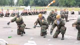 РЕАЛЬНЫЙ БРЕСТ 38 бригада День ВДВ 2013