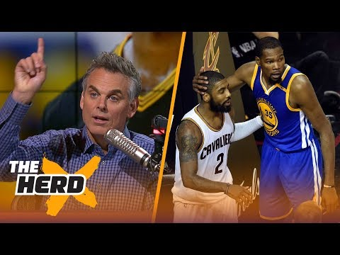 Kevin Durant explains why Kyrie Irving wanted to leave LeBron James | THE HERD