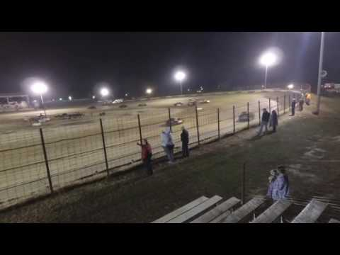 100816 Fayette County Speedway Pro 4 Feature