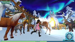 New Years Party!~Star Stable Online Horse game~Roleplay